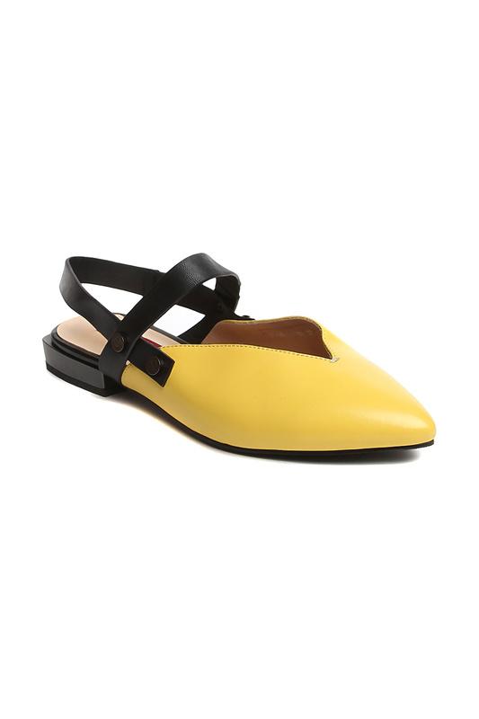 Туфли женские Milana 201438-1 желтые 39 RU