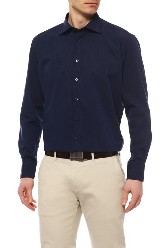 Рубашка мужская DIGEL 1257020/20/1/1 DIDIER 1/1 синяя 43 DE