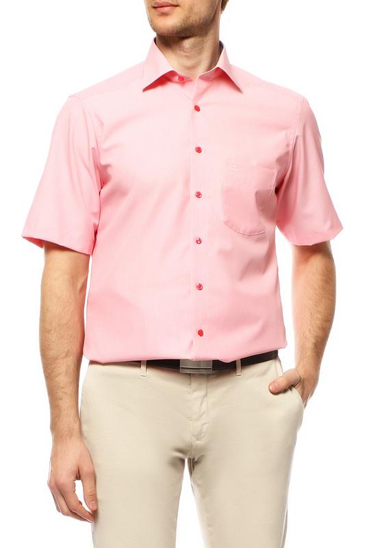 Рубашка мужская OLYMP 1352/12/81 розовая 41 DE