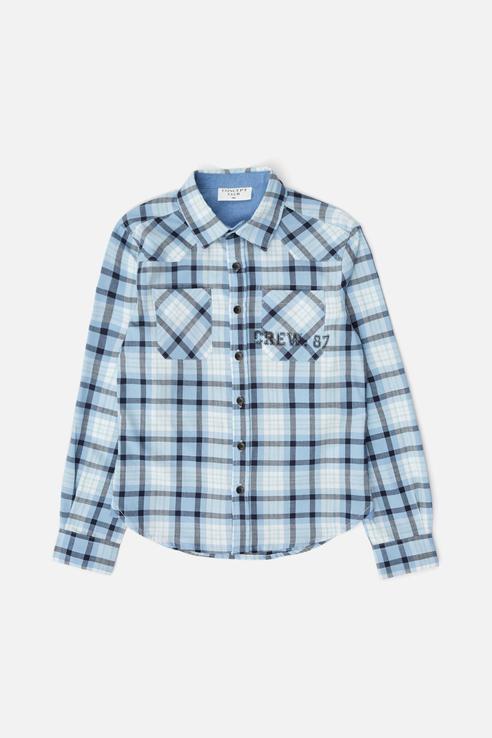Рубашка Concept Club для мальчиков цв. голубой