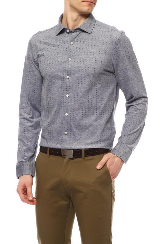 Сорочка мужская OLYMP 3506 24 18 синяя 40 DE