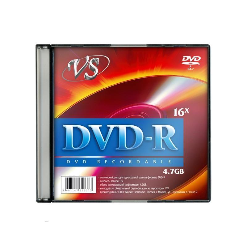 Диск VS DVD R 4.7 Gb