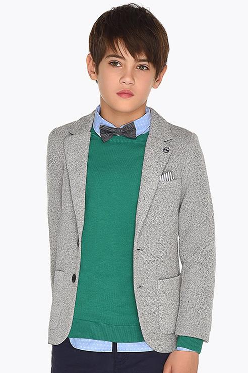 Пиджак Nukutavake by Mayoral для мальчиков цв. серый р-р. 128