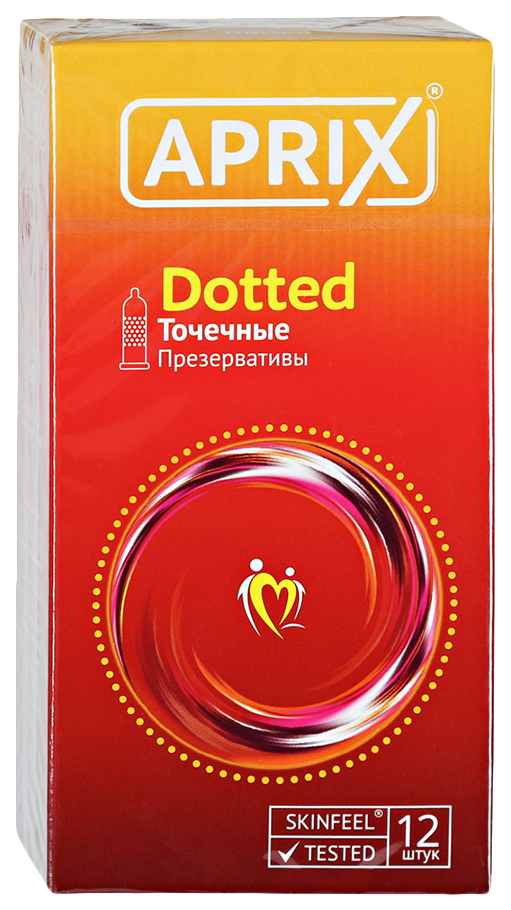 Купить Презервативы точечные Aprix Dotted 12 шт.
