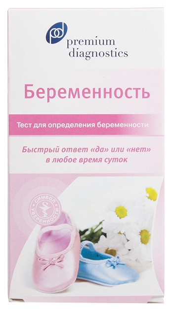 Premium Diagnostics тест для определения беременности