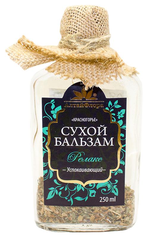 Купить Бальзам сухой Красногорье Релакс успокаивающий 250 г АлтайФлора