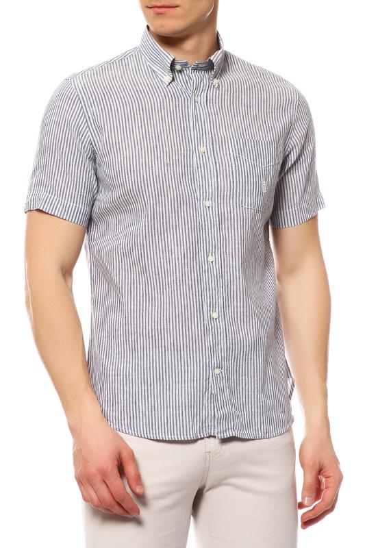Рубашка мужская MARINA YACHTING 210275300250 голубая 42 IT