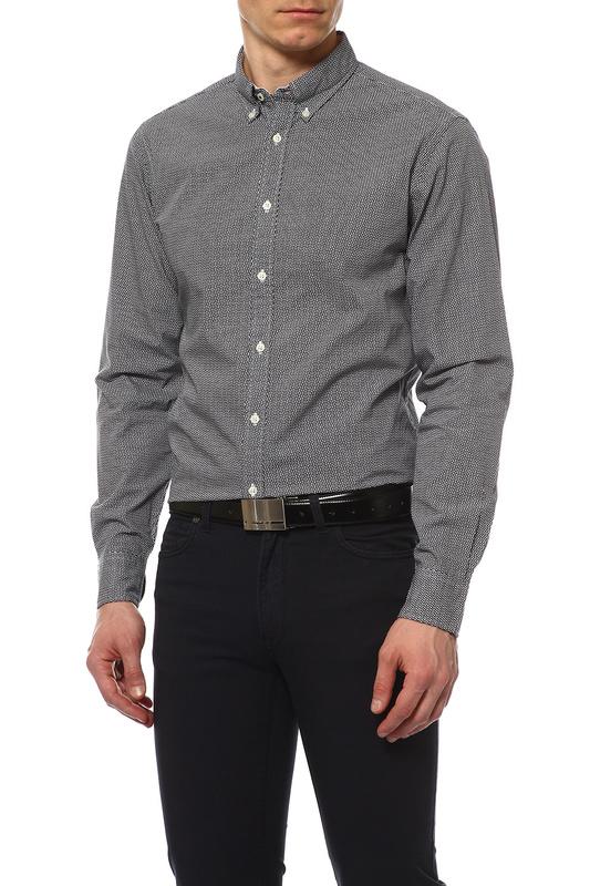 Рубашка мужская TOMMY HILFIGER .0887838188 416 синяя M