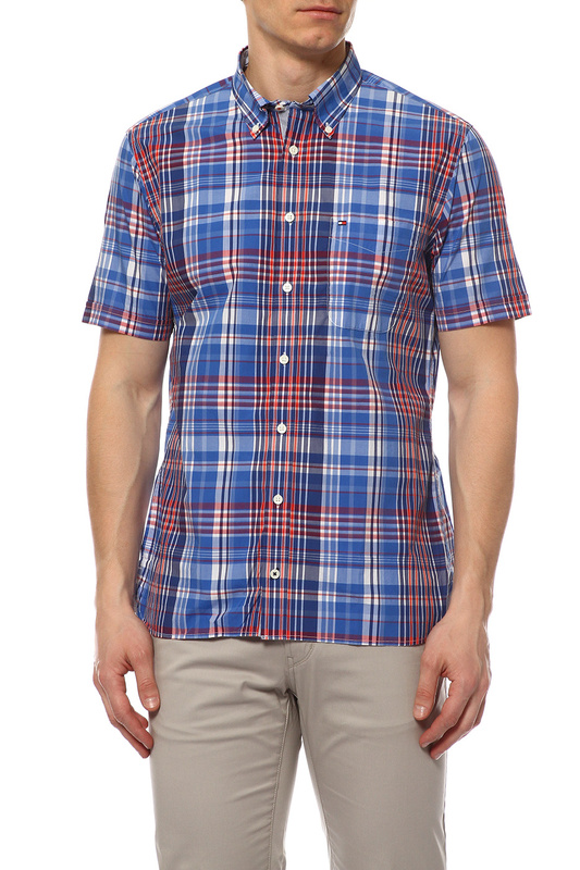 Рубашка мужская TOMMY HILFIGER .0887828267 466 синяя M