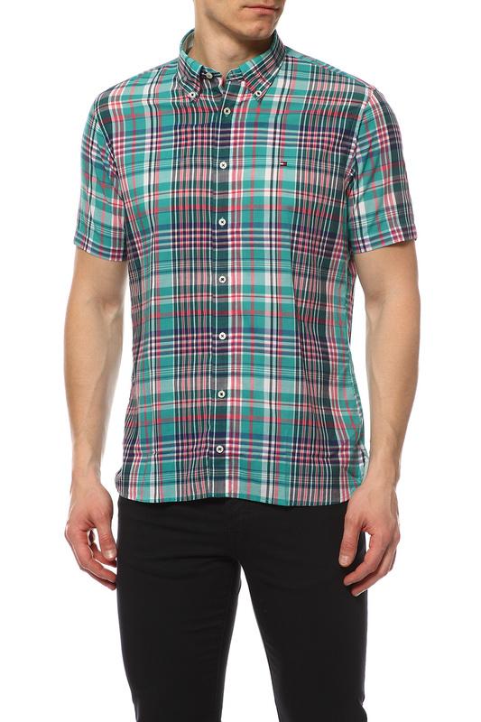 Рубашка мужская TOMMY HILFIGER .0887828381 341 зеленая S