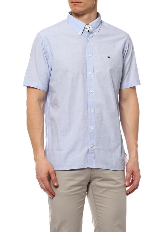 Рубашка мужская TOMMY HILFIGER .0887828269 370 голубая S