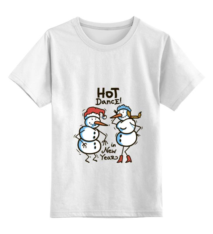 Купить 0000000672565, Детская футболка классическая Printio New year, р. 164,