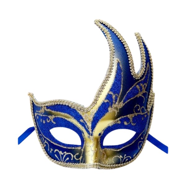 Купить Карнавальная маска Феникс-Презент Жар-птица синяя,