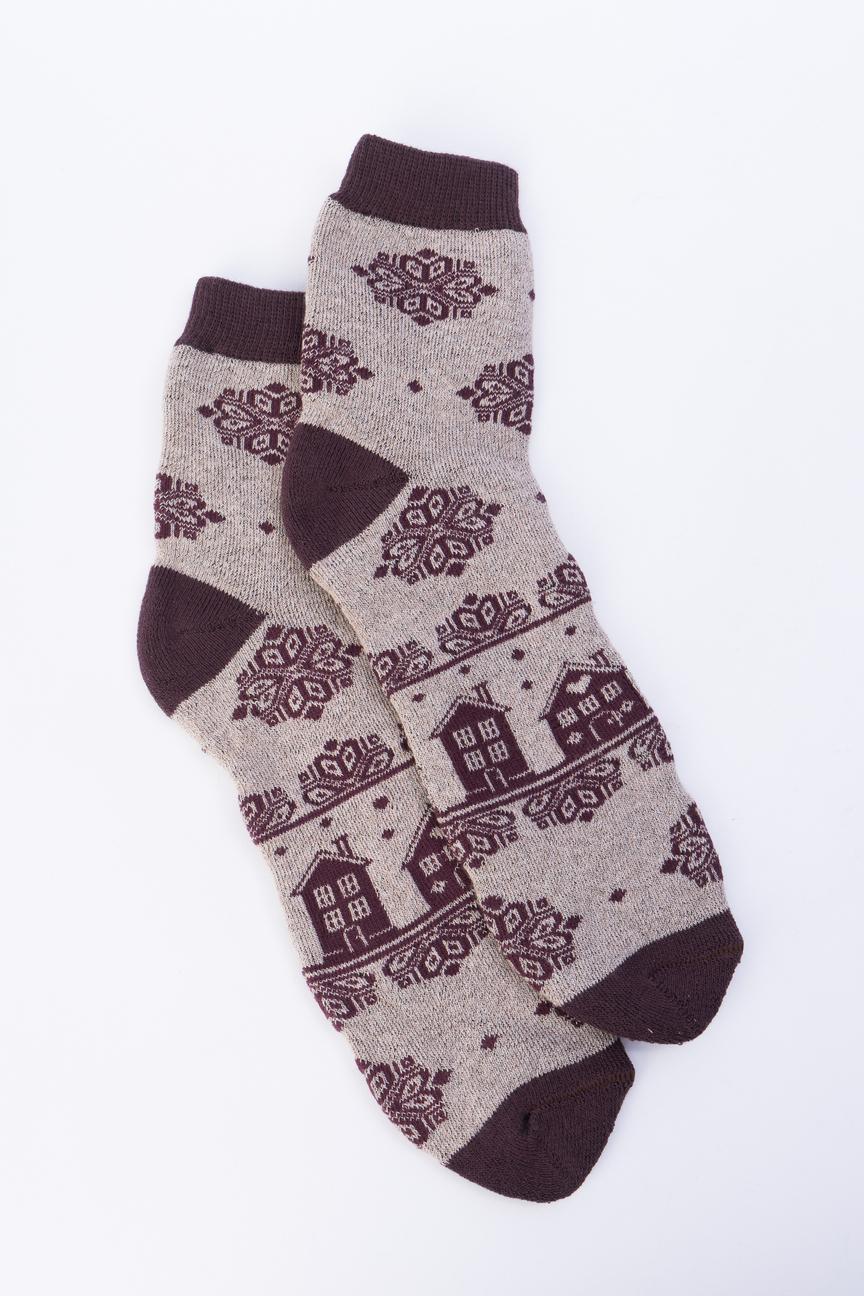 Носки женские Мой размер Ж-194 коричневые 38