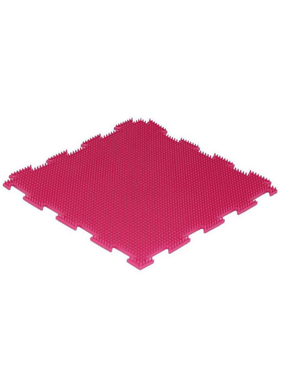 Массажный коврик Ортодон Трава жесткая розовый