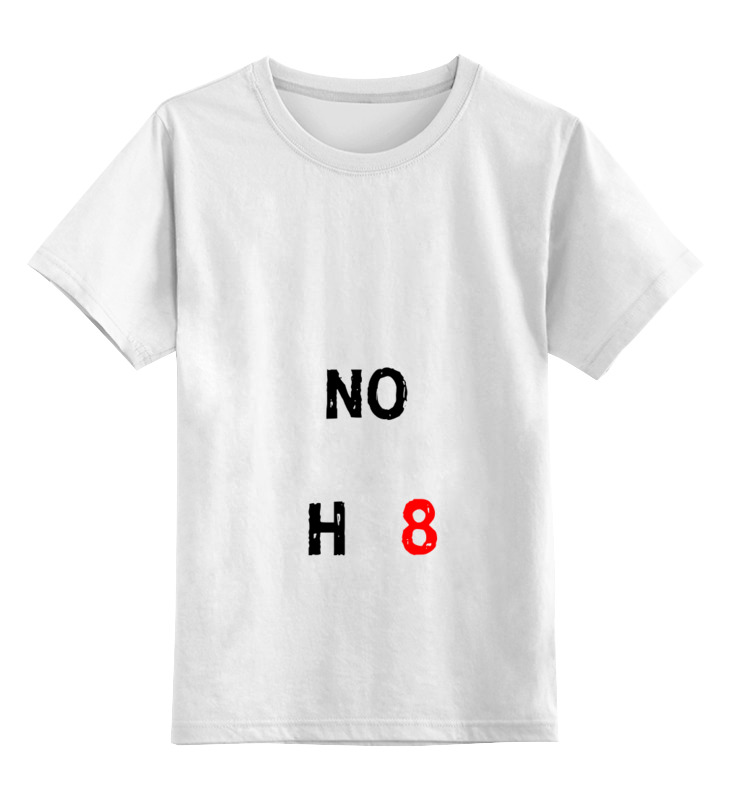 0000000675317, Детская футболка классическая Printio Noh8, р. 104,  - купить со скидкой