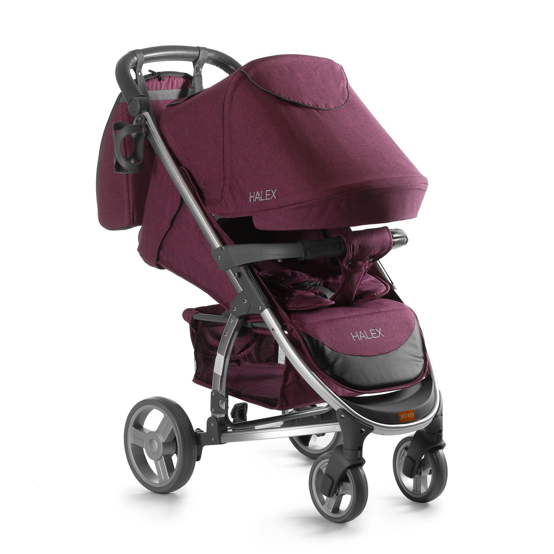 Коляска детская XO KID Halex purple