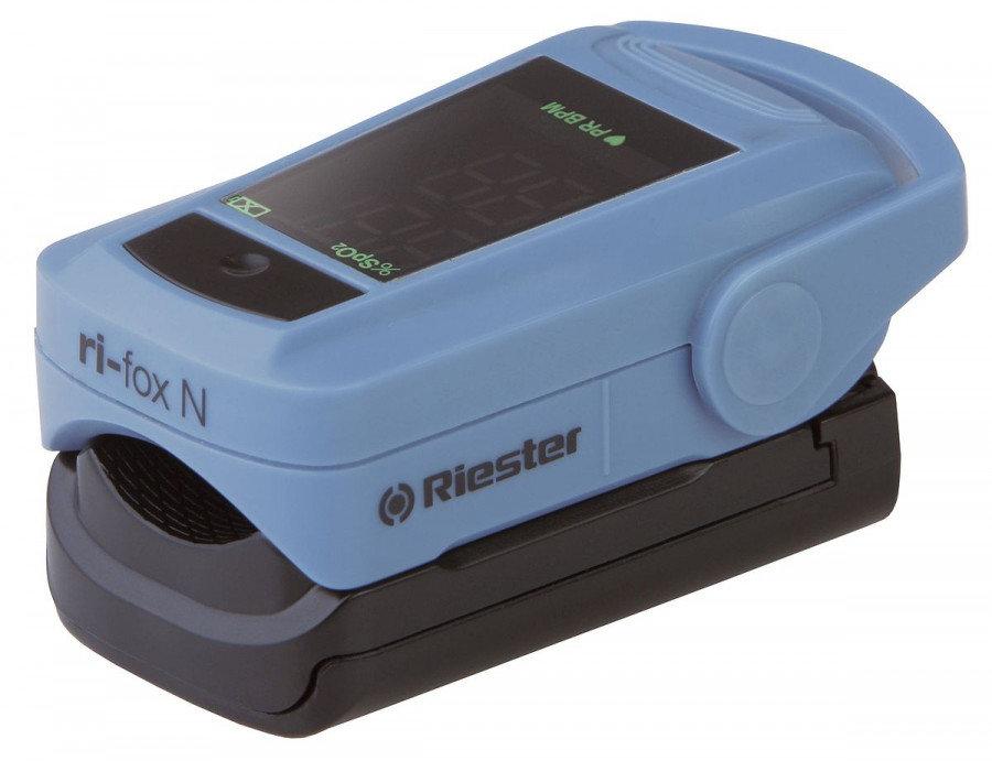 Купить Пульсоксиметр пальчиковый Riester 1905 ri-fox портативный прибор с сенсорным устройством