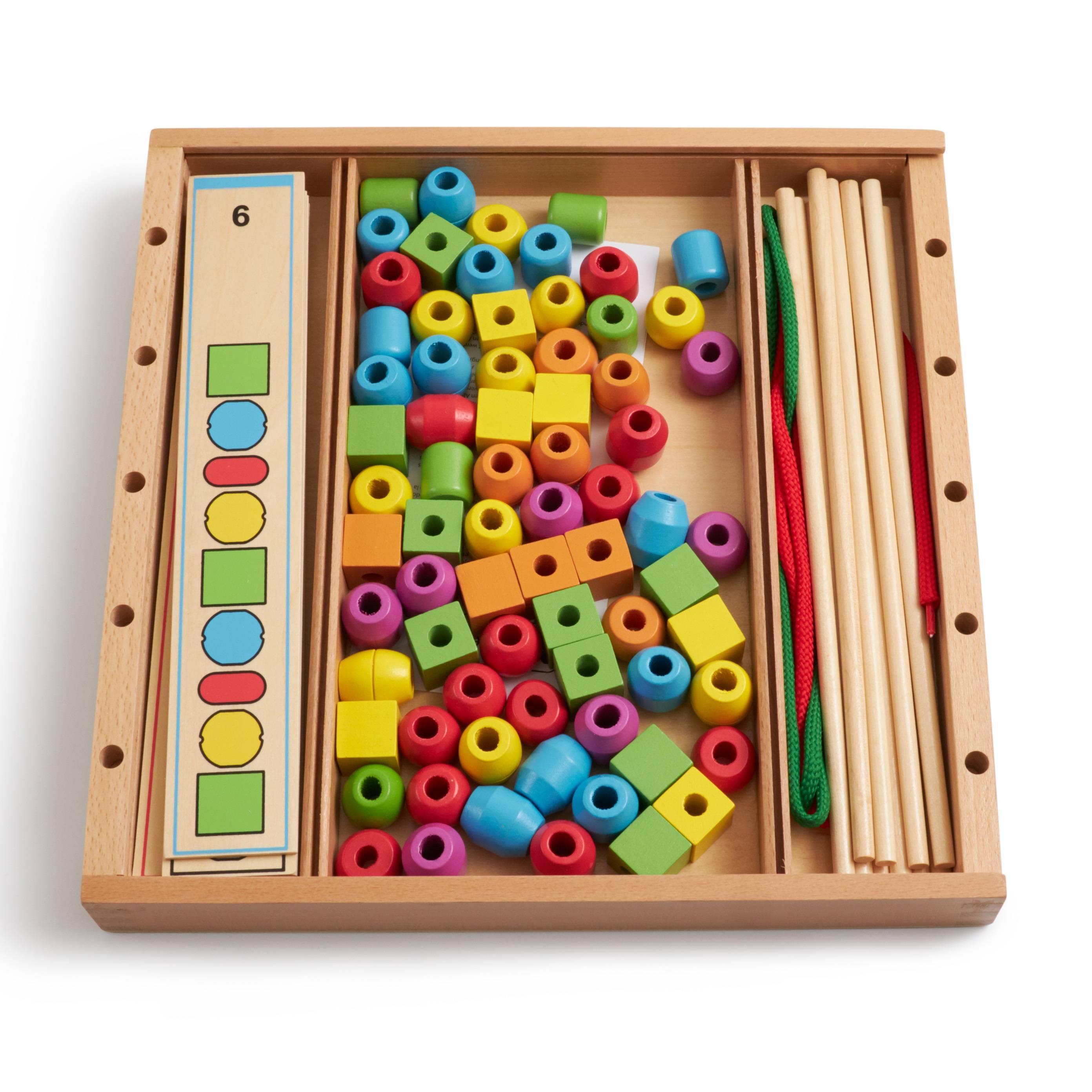 Развивающая игра ANDREU Toys Развивающая игра Формы, цвета, последовательность