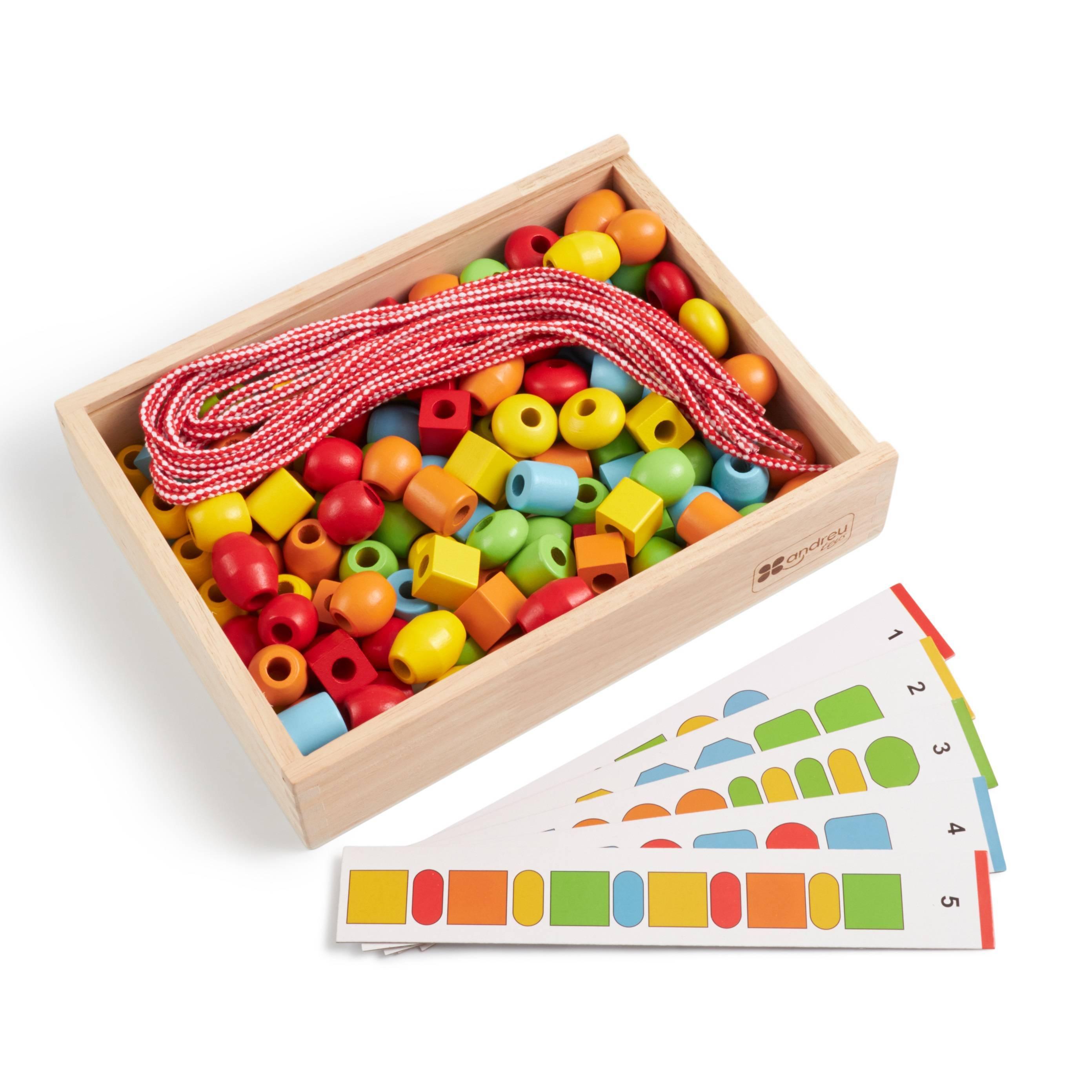 Развивающая игра ANDREU Toys Развивающая игра Формы и цвета