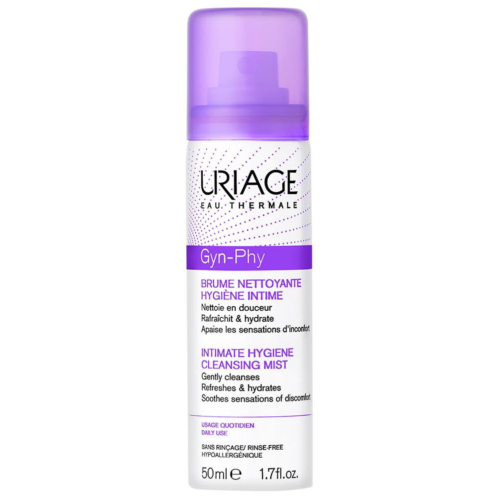 Очищающая дымка спрей для интимной гигиены URIAGE