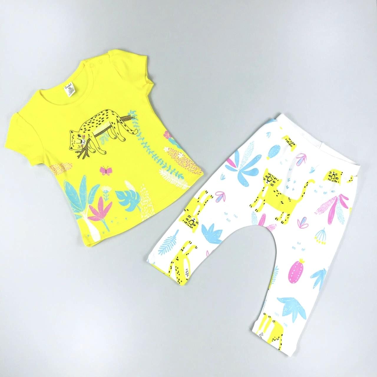 Комплект одежды Crockid Леопарды р.92