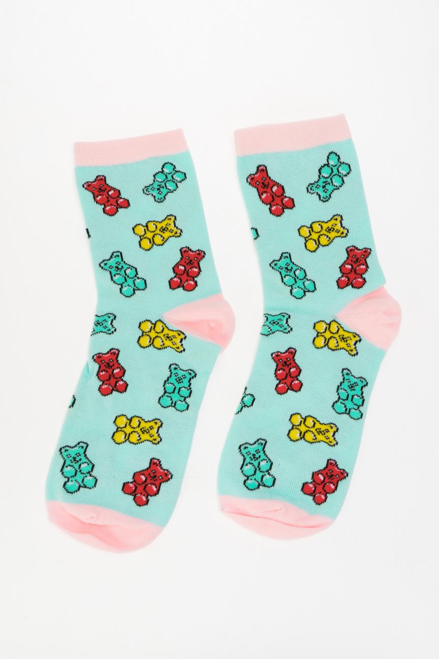 Носки женские Kawaii Factory KW009-000809 разноцветные 35-39