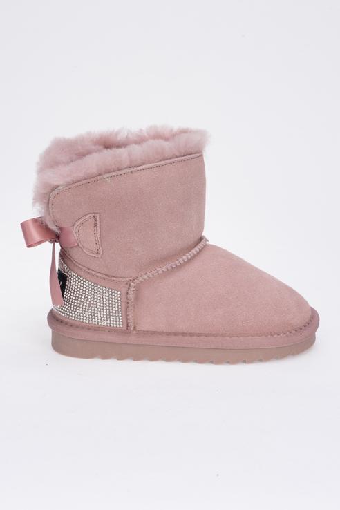 Угги KENKÄ для девочек цв. розовый