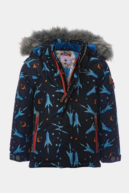 Купить 96400199, Куртка KUOMA для мальчиков цв. синий р-р. 98,