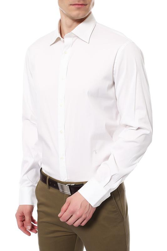 Рубашка мужская TRU TRUSSARDI 624082 белая 43 IT