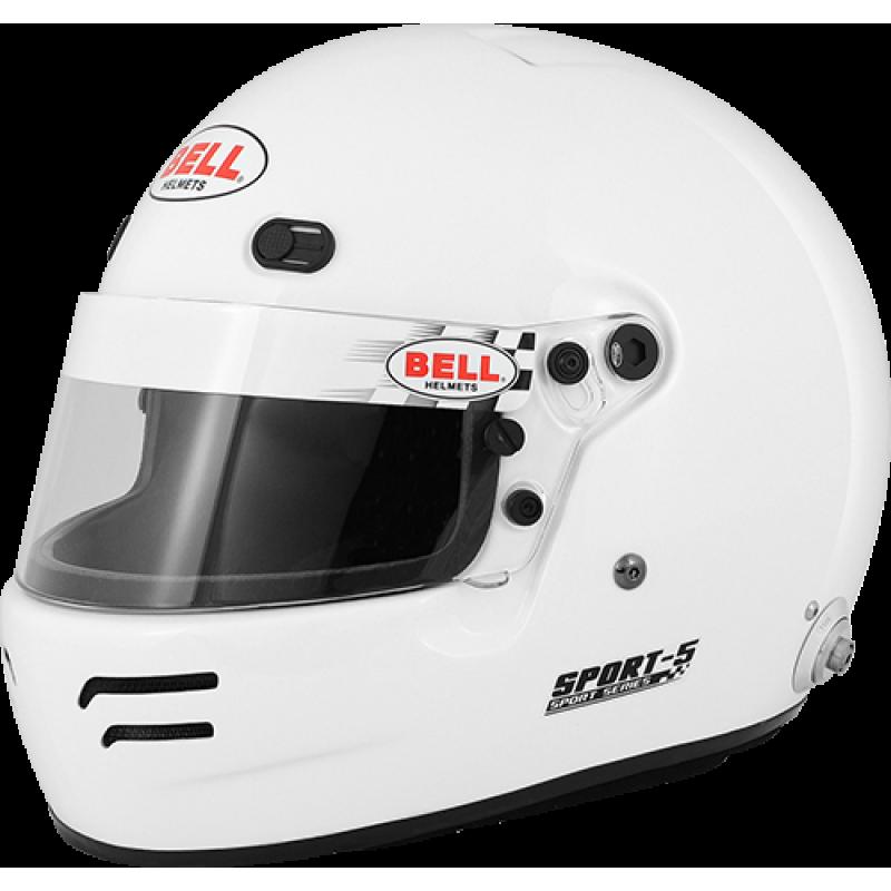 Шлем для автоспорта Bell 1418003 закрытый SPORT