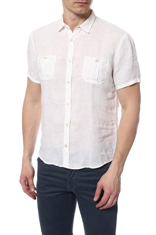 Рубашка мужская TRU TRUSSARDI 524442 белая M