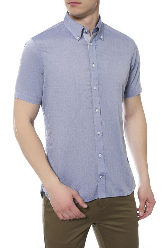 Рубашка мужская TOMMY HILFIGER .0887828318 984 синяя S