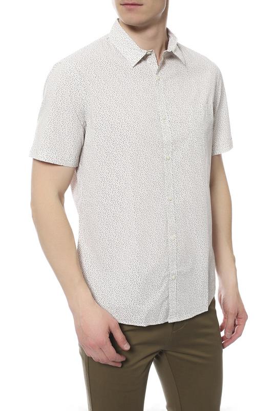 Рубашка мужская TRU TRUSSARDI 624185 бежевая 42 IT