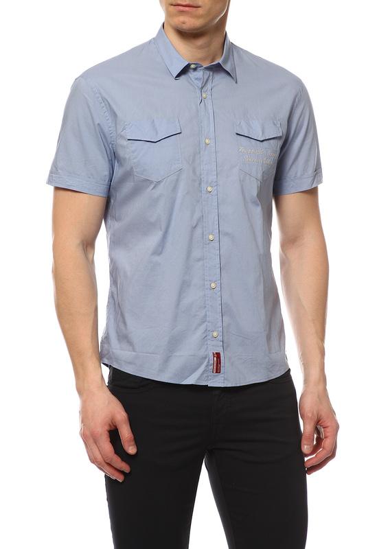 Рубашка мужская TRU TRUSSARDI 524201R голубая M