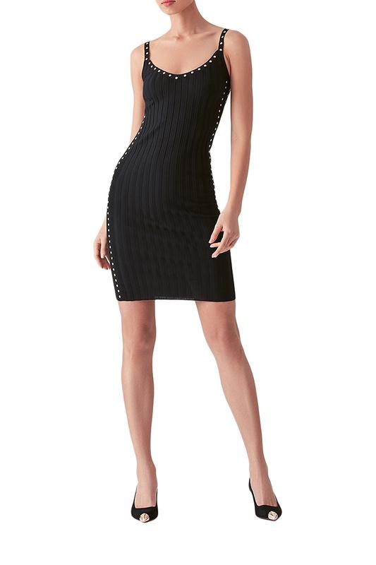 Платье майка женское LOVE REPUBLIC 2553110569 черное