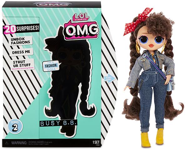 Кукла  L.O.L. Surprise OMG Busy B.B.