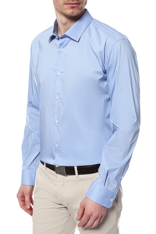 Рубашка мужская JOOP 224320 голубая 38 DE