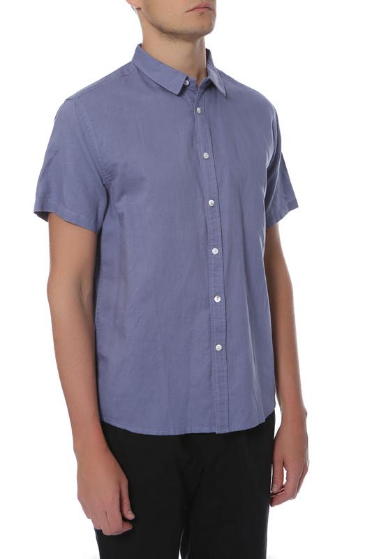 Рубашка мужская CUDGI STU 1810 голубая 48 IT