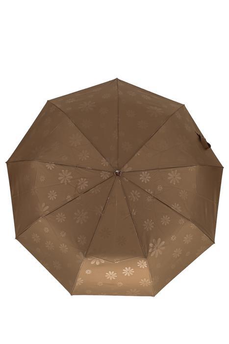 Зонт женский Sponsa 17014 коричневый
