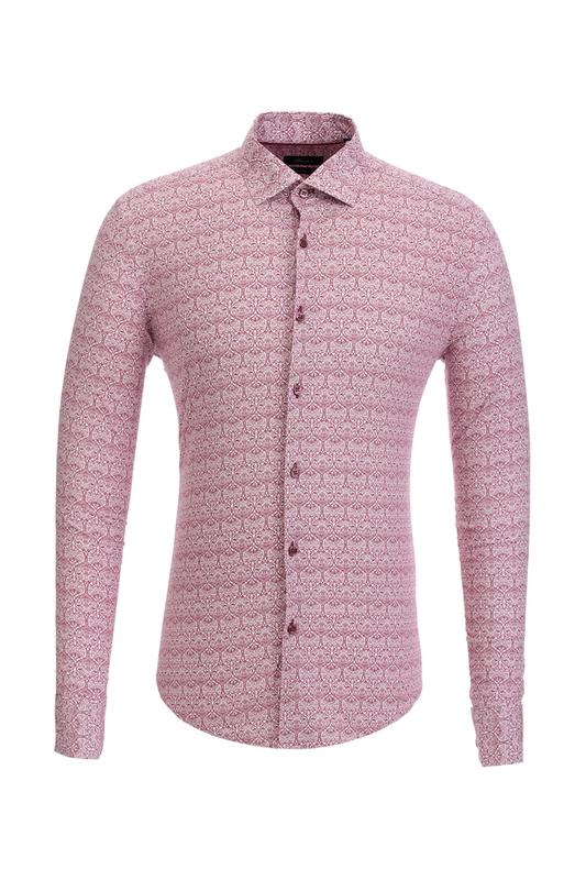 Рубашка мужская BAWER 2RY40022-02 белая S
