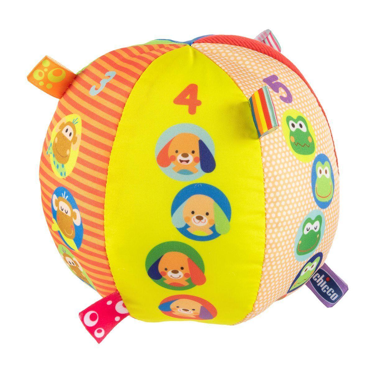 Игрушка Chicco Музыкальный мячик 3м+