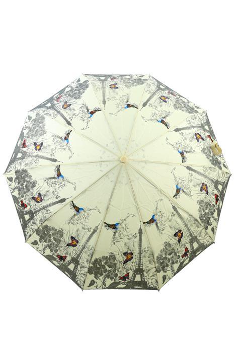Зонт женский Sponsa 8262 бежевый