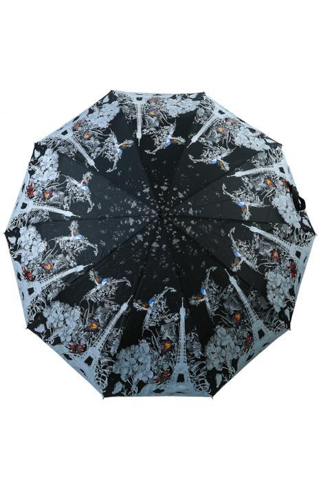 Зонт женский Sponsa 8262 черный