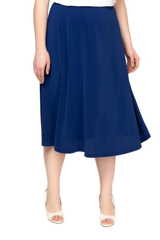 Юбка женская OLSI 1814013_10 синяя 50 RU