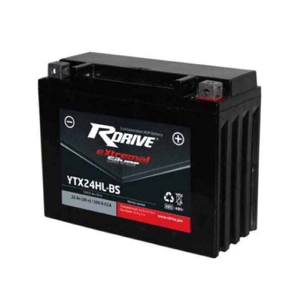 Аккумулятор RDRIVE SILVER YTX24HL-BS по цене 6 300