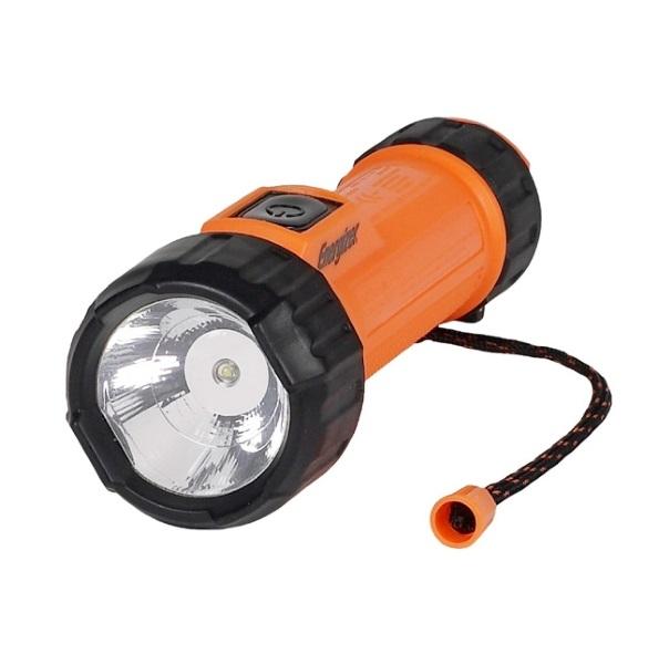 Фонарь Energizer Atex 2D оранжевый/черный (E300278100)