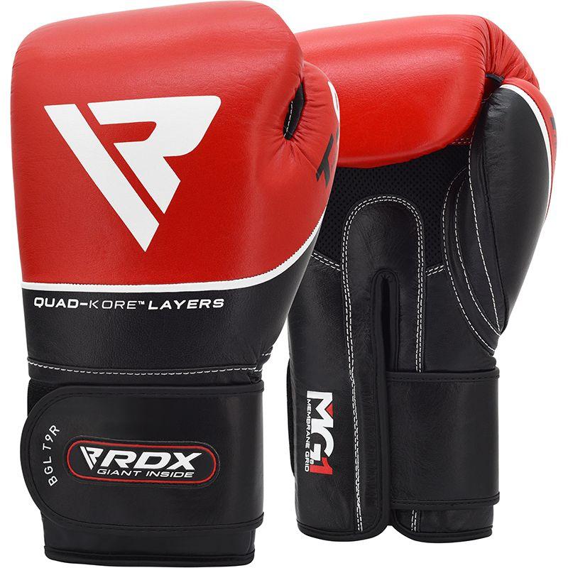 Боксерские тренировочные перчатки RDX BGL-T9 RED фото