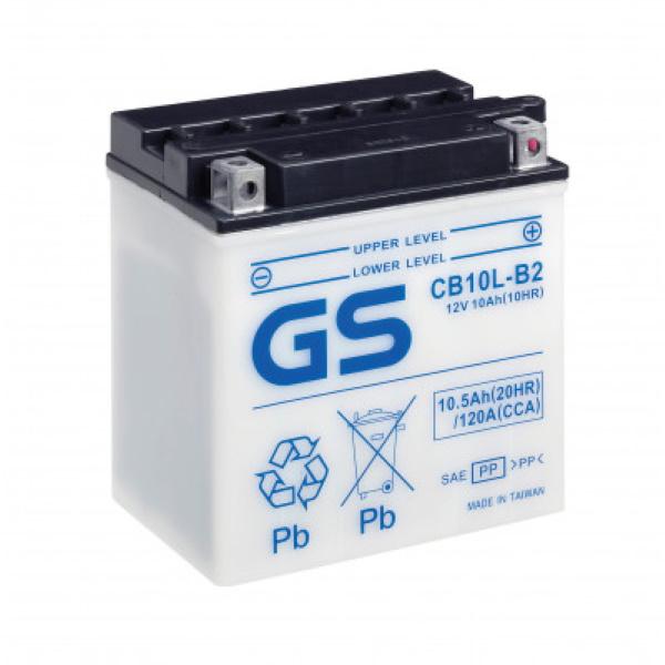 Аккумулятор GS CB10L-B2.