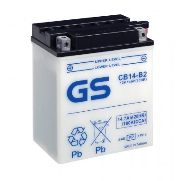 Аккумулятор GS CB14-B2.